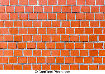 Red brick wall pattern