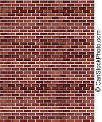 Red Brick Wall seamless - red brick wall seamless