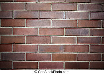 red brick wall texture background