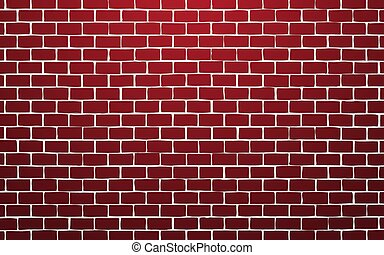 red brick wall vector illustration background