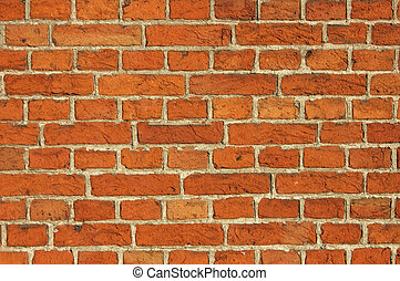 Red Bricks Wall Background - Red Bricks Wall background shot...