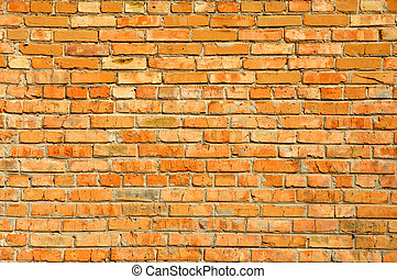 Red bricks wall texture - Red brick wall texture background