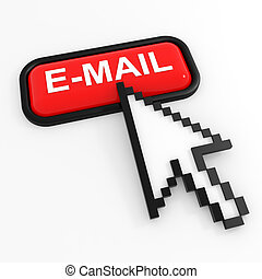 Red button E-MAIL with arrow cursor.