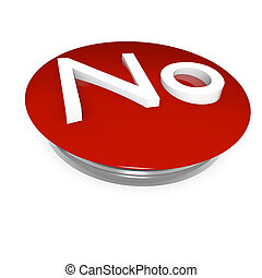 "Red button ""No"""