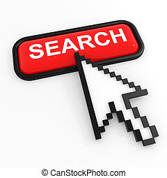 Red button SEARCH with arrow cursor.