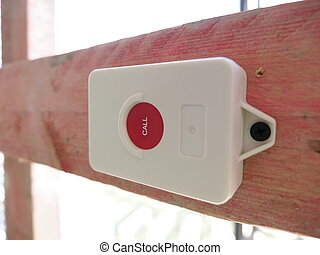Red call button