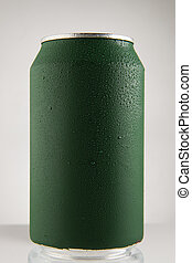 red can of soda on white background, red can of soda on white background,