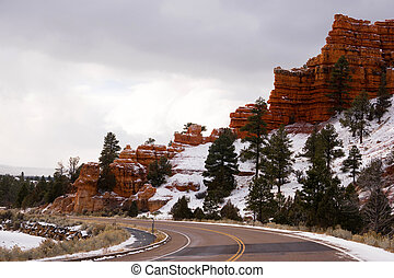 Red Canyon Dixie National Forest Panguitch Utah