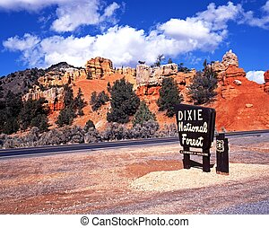 Red Canyon, Dixie National Forest.