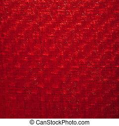 Red carbon fiber Stock Image | csp13310344