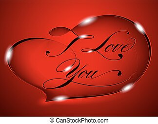 Red card %u2013 I Love You