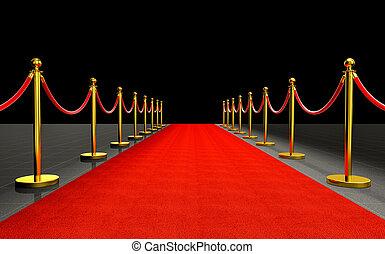 red carpet 3d