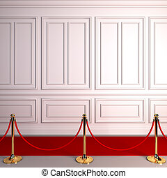 Red carpet abstract awards.