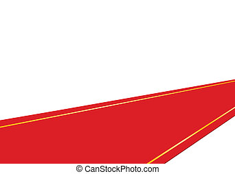 carpet roll vector. red carpet - spread out the for importantroll vector n