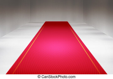 Red Carpet Interior Backdrop