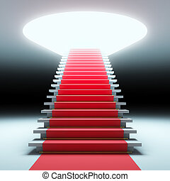 Red carpet to the future.