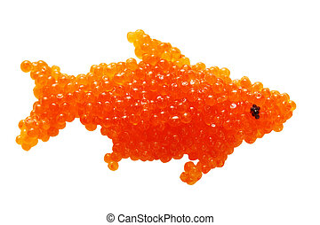 caviar in the form of fish