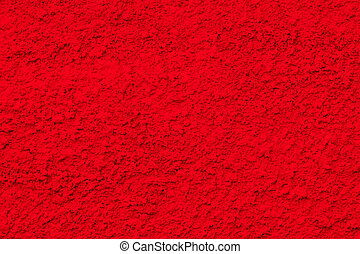 red cement wall as background