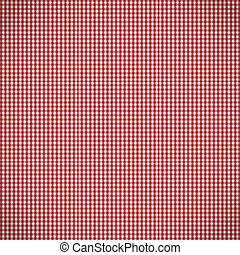 Red Checked Pattern