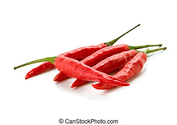 red chili peppers -