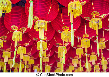 Red Chinese lanterns, Chinese New Year in Malaysia