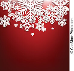 Red christmas background.