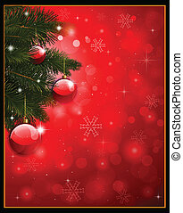 Red Christmas background - red christmas background with...