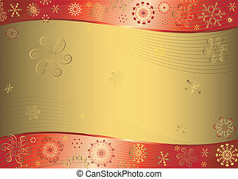 Red christmas background
