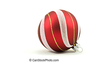 christmas ball with ornament