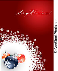 Red Christmas card 2