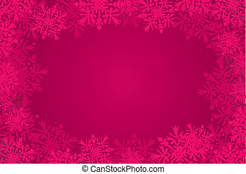 red christmas-card background