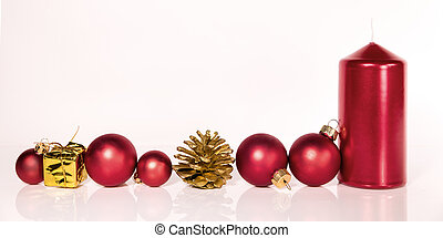 red christmas decoraion