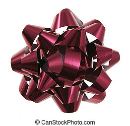 Red Christmas Gift Bow