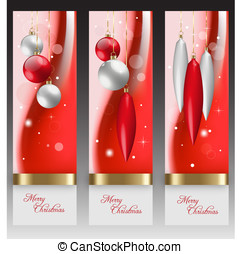 Red Christmas holiday background - Illustration of Christmas...