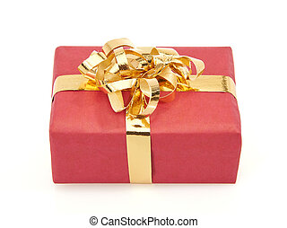 Red christmas present