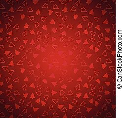 Red Christmas seamless abstract background