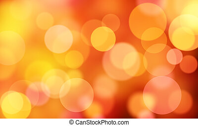 red circle lights bokeh - red abstract background circle ...