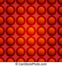 Red circle seamless background