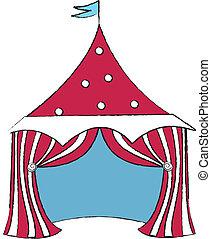 Circus - Red Circus Tent