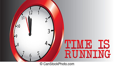 time is running