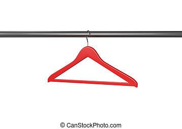 Red clothe hange