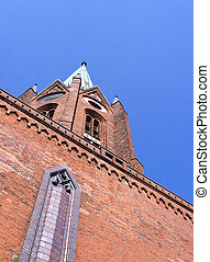 Old church tower