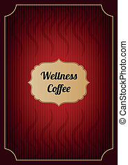Red coffee menu cove