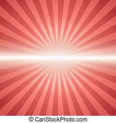 red color burst background