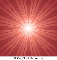 red color burst background.