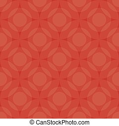 Red color circle background, Vector by EPS10