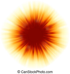 Red color design with a burst. EPS 8 vector file included