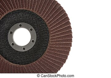 red color flap abrasive disc