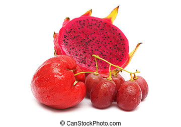 Red Color Fruits
