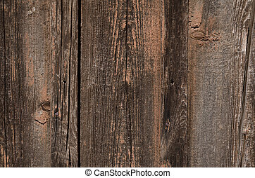 Red color of a wooden texture. Abstract background